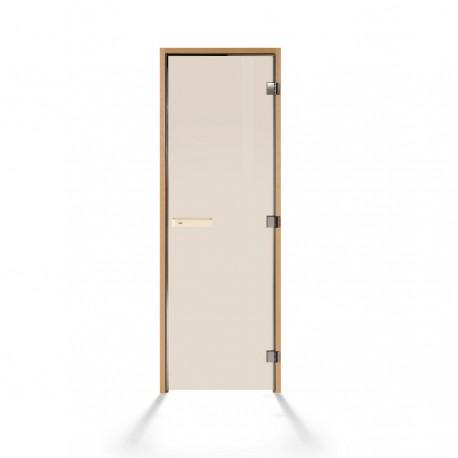 Дверь для сауны Tylo Harmony из осины с бронзовым стеклом