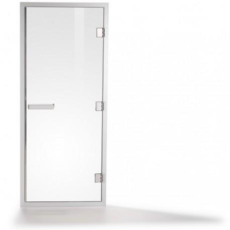 Дверь для паровой Tylo 60G (белый профиль, бронза)